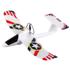 EX-1 Glider with Power Assist glider, ex-1 glider, duncan toys, duncan gliders, power assits glider, paint your own plane, DIY plane