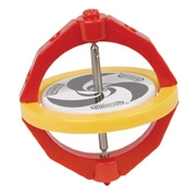 Red and yellow Duncan Gyroscope