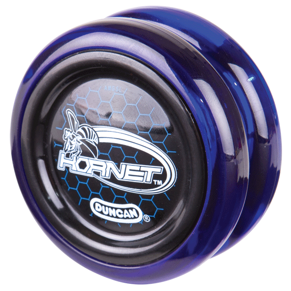 Black and Blue Duncan Hornet yo-yo