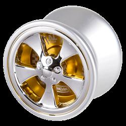 Gold Duncan Metal Racer yo-yo