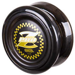 Black Duncan Pro Z w/ mod spacers yo-yo