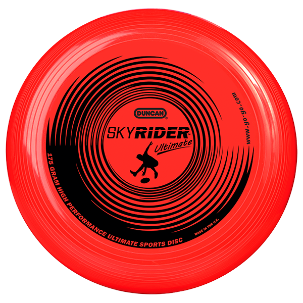 Red Duncan Sky Rider Ultimate Disc
